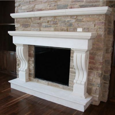 indoor stone fireplace. cottonwood fireplace surround indoor stone .