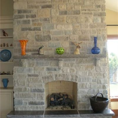 harvest mix fireplace surround