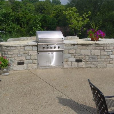 eden veneer outdoor kitchen