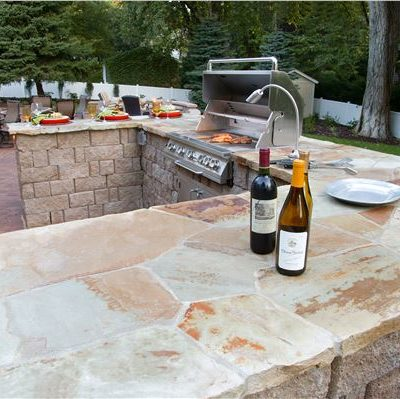 shawnee steppers outdoor kitchen