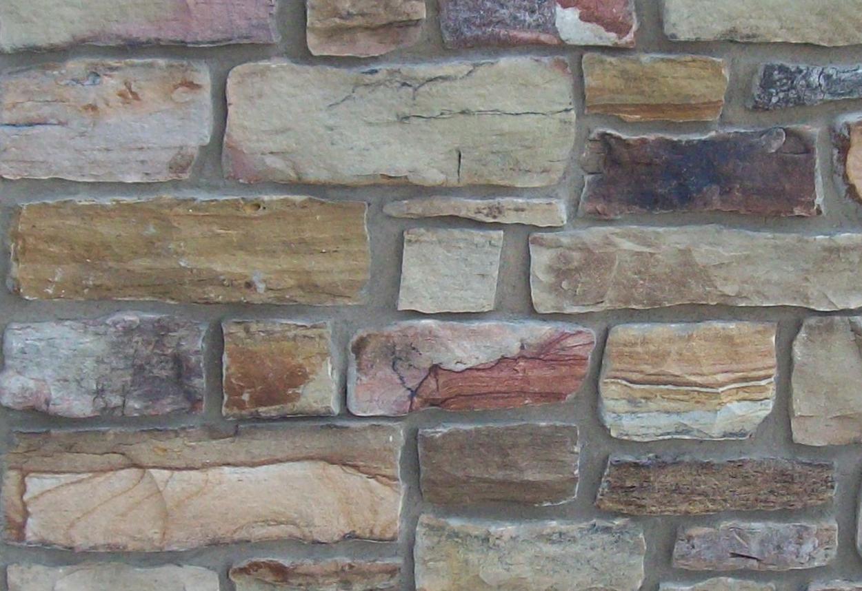 Weathered Granite Stone : Split weathered fieldstone
