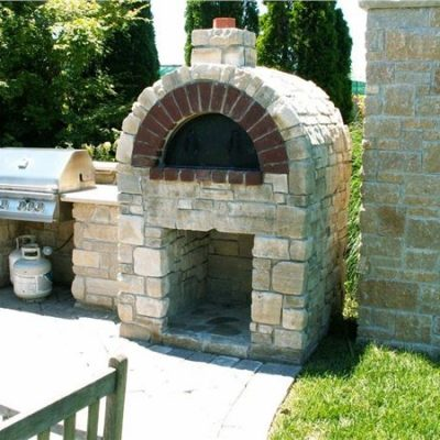 aux vases tumbled outdoor pizza oven