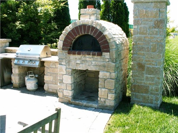 Outdoor Stone Pizza Ovens Earthworks Natural Stone