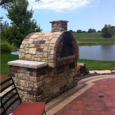 ew gold outdoor pizza oven