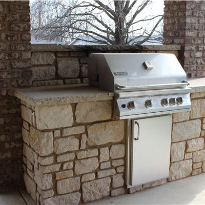 Outdoor Kitchens Earthworks Natural Stone