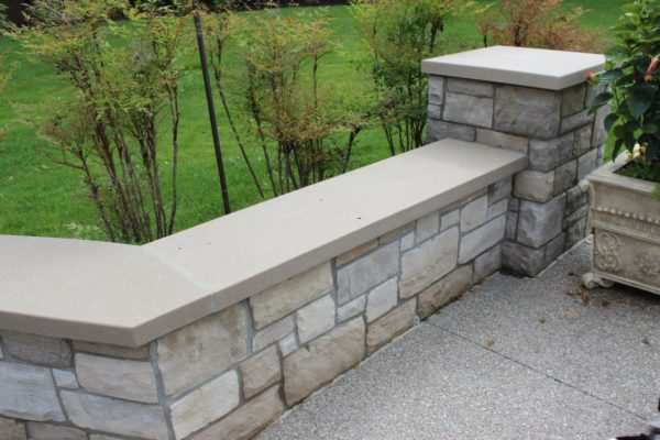 Indiana Limestone Coping