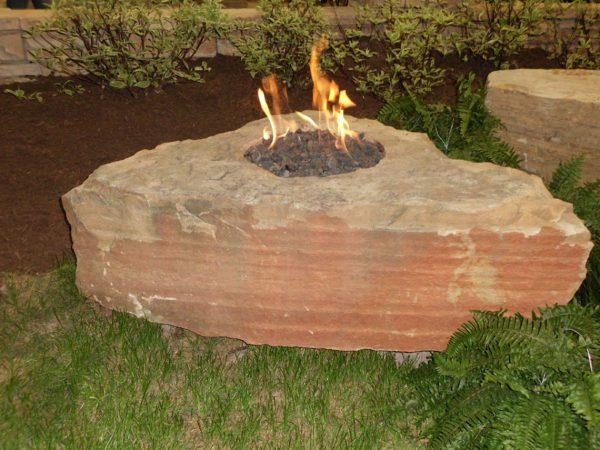 Fire Boulders