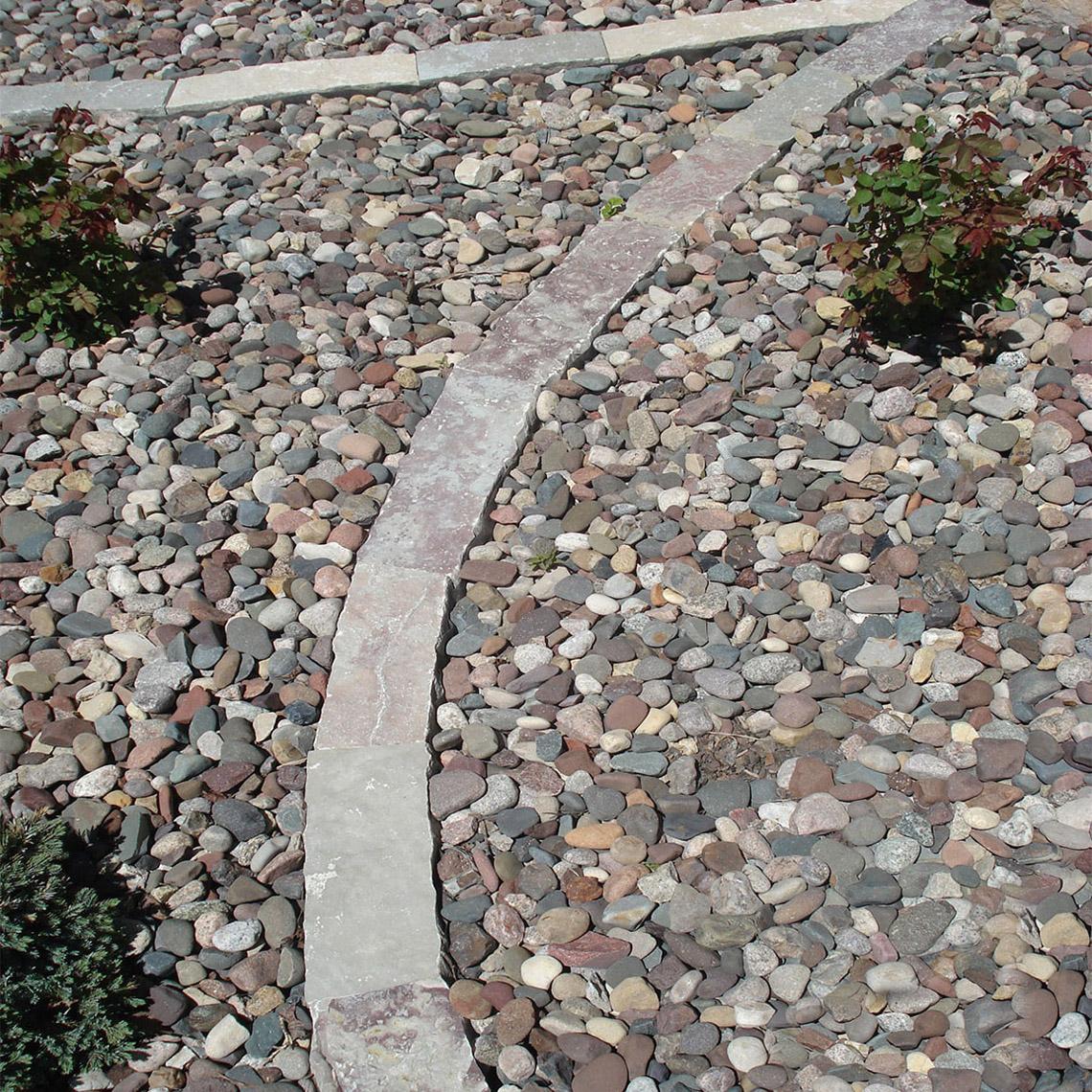Earthworks Natural Stone : Chilton snapped edger earthworks natural stone