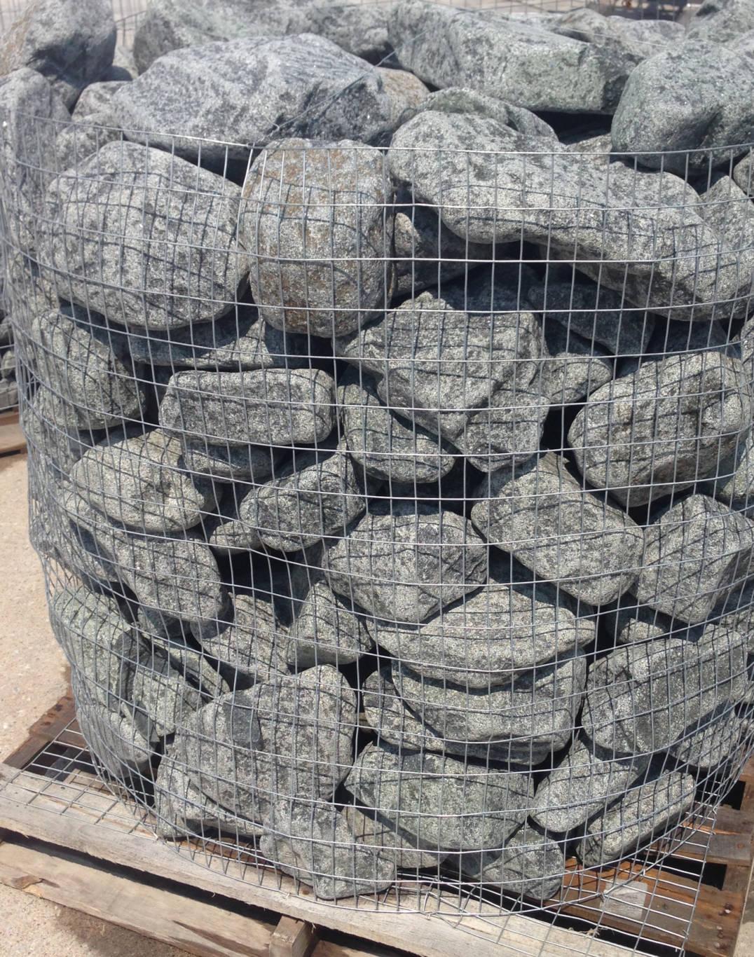 Earthworks Natural Stone : Cobalt black granite tumbled cobblers earthworks natural