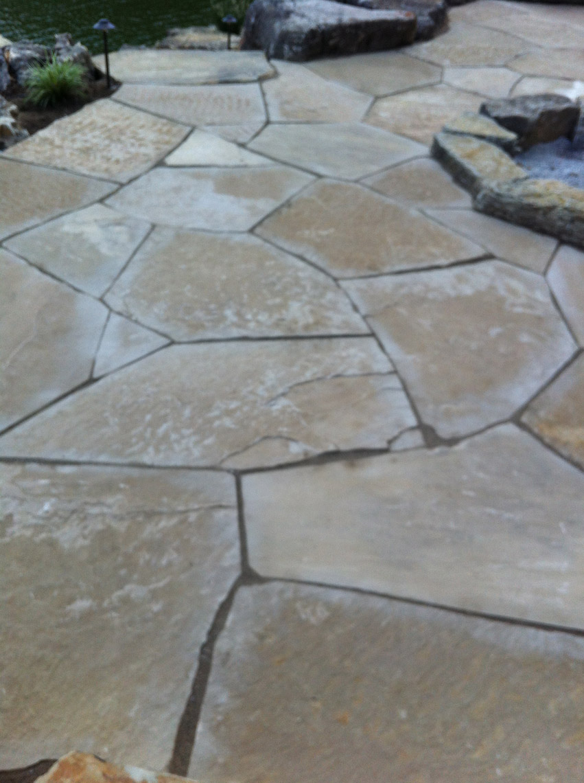 Earthworks Natural Stone : Fossil creek flagstone earthworks natural stone