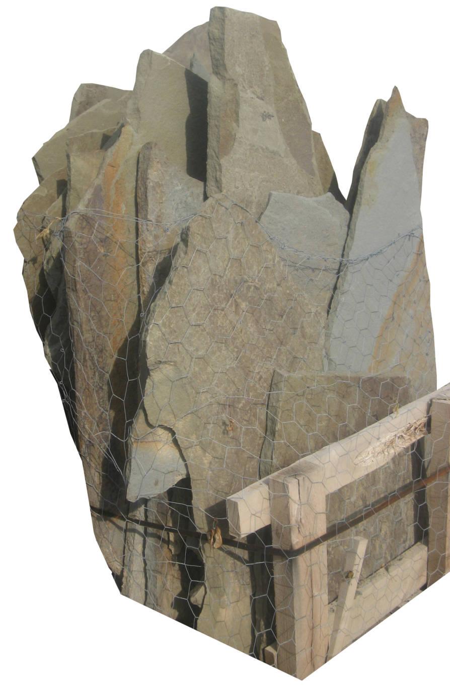 Earthworks Natural Stone : Pennsylvania bluestone irregular flagstone full color