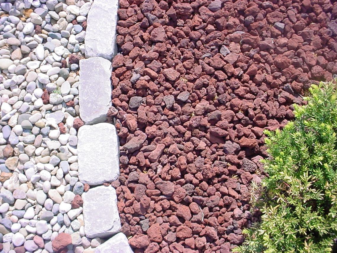 Red Lava Gravel Earthworks Natural Stone