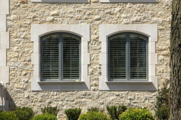 Indiana Limestone Arched Surround